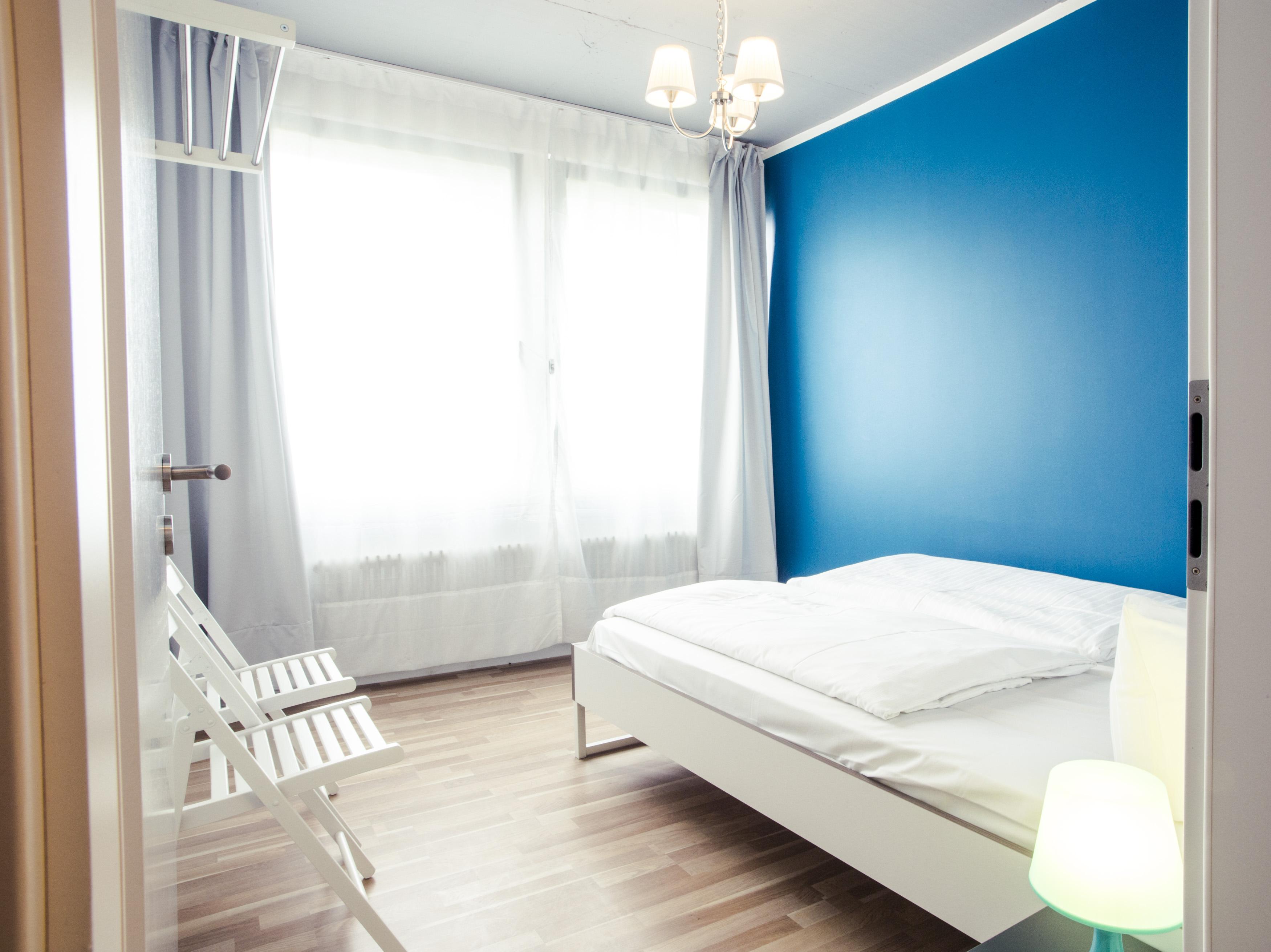 Wohnzimmer Mit Glaswnde